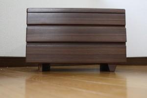 とてもシンプルなデザイン|木製|針箱・裁縫箱 2015-006